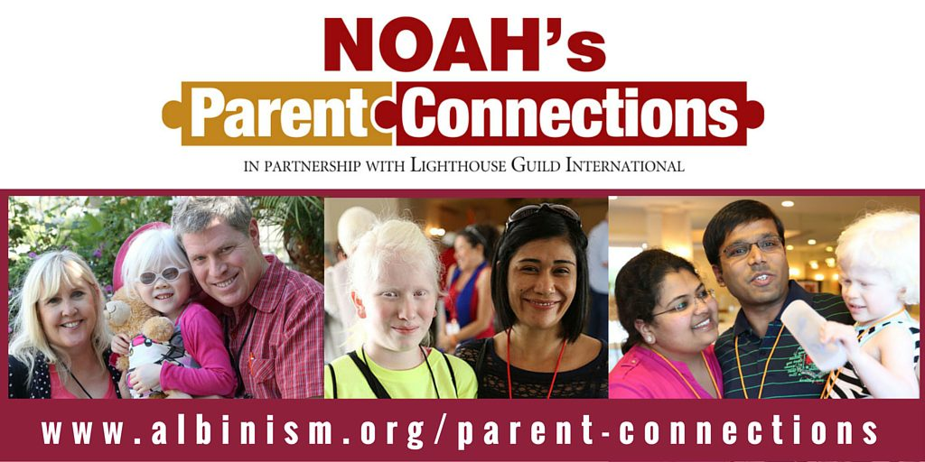 NOAH Parent Connections Logo with Photos