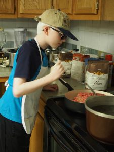 Connor N. Cooking