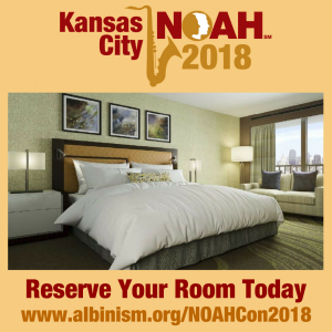 NOAHCon2018 - Reserve Your Room Today