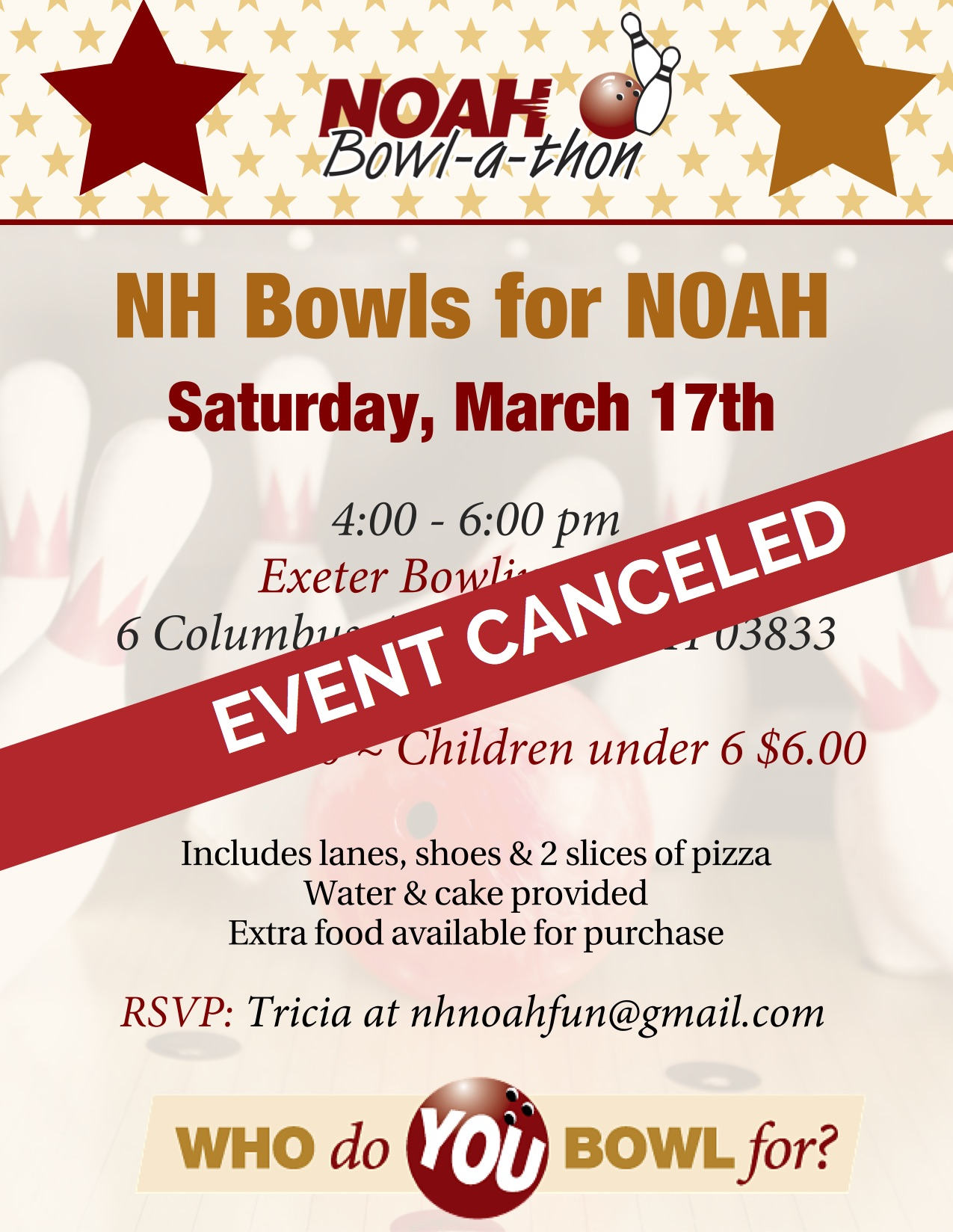 NH Bowls for NOAH - Exeter, NH