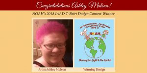 IAAD 2018 Shirt Design Winner