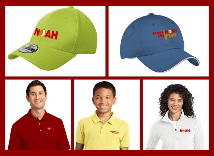 NOAH Embroidered Gear