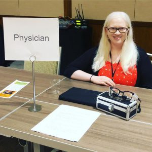Doctors with Albinism