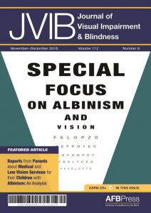 JVIB_Special Focus on Albinism and Vision