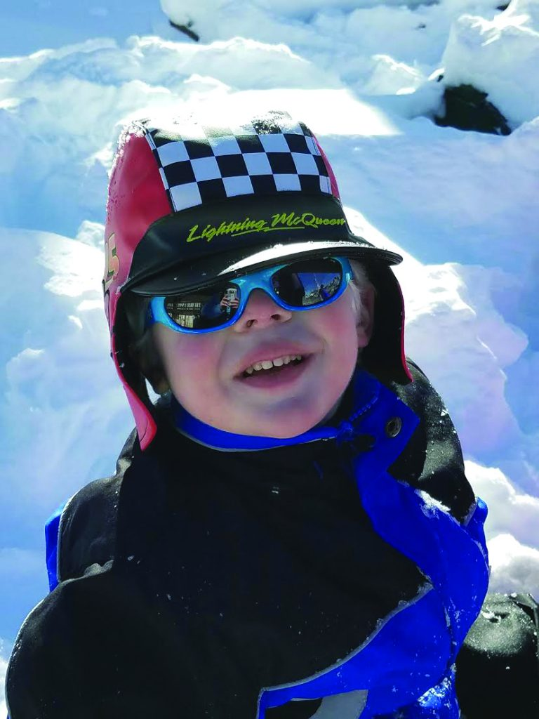 NOAH member Rowdy on the Colorado Slopes. Image courtesy of Barbara Hrach