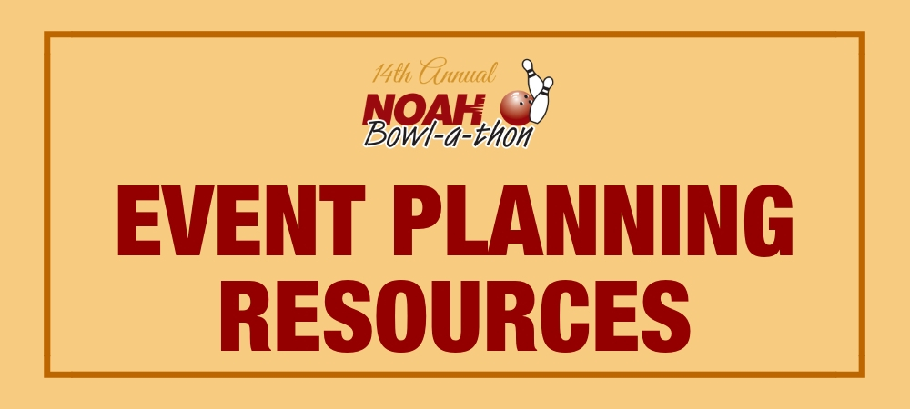 Bowl-a-thon Event Planning Resources