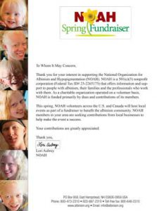 Spring Fundraiser Official Verification Solicitation Letter