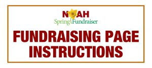 Spring Fundraising Page Instructions