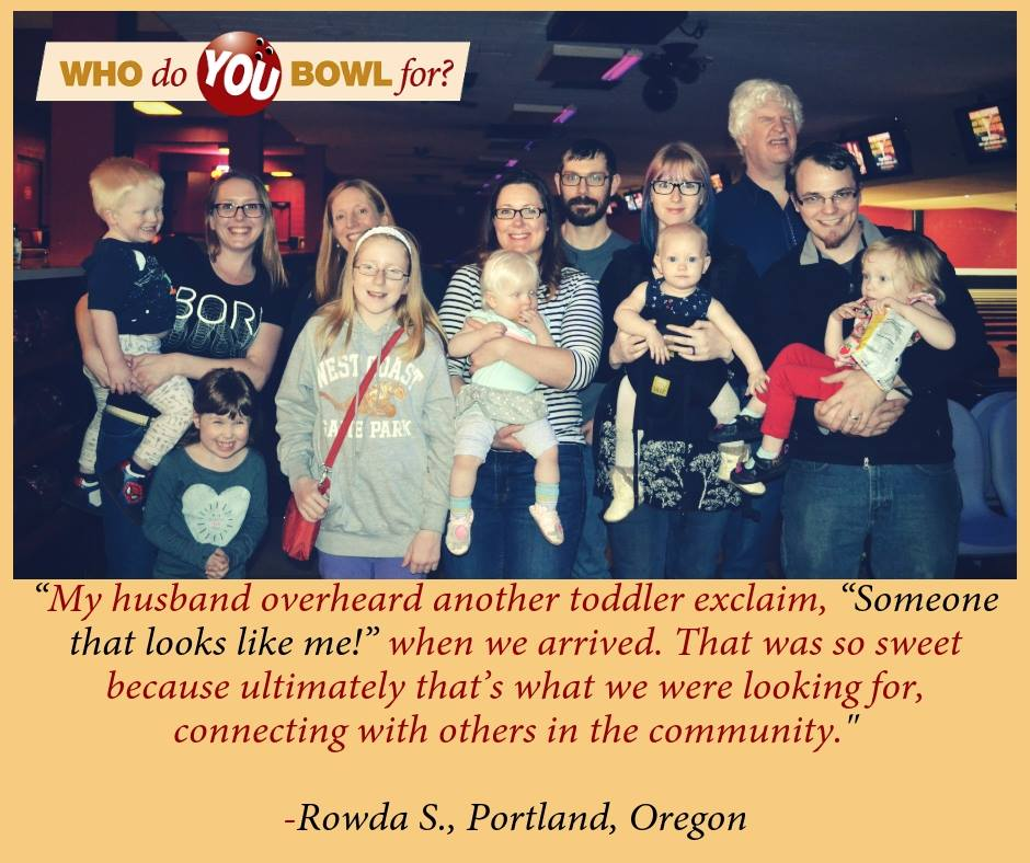 Rowda S. Bowl-a-thon Quote