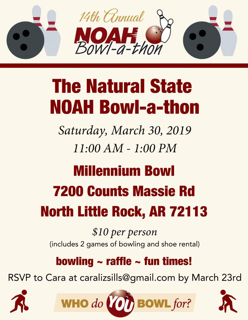 Natural State Bowl-a-thon Flyer