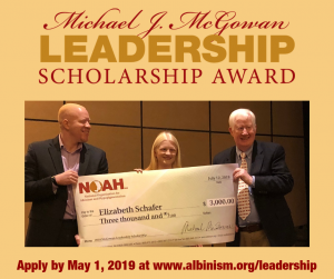 Michael J. McGowan Leadership Scholarship 2019
