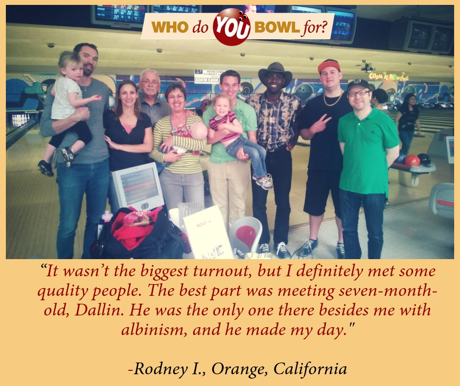 Rodney Bowl-a-thon Quote