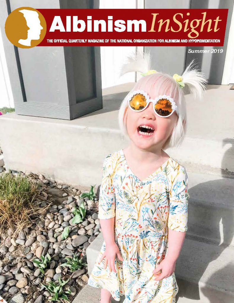 Summer 2019 Cover of Albinism InSight