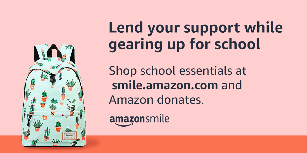 Support NOAH when you shop for back to school essentials on amazonsmile!