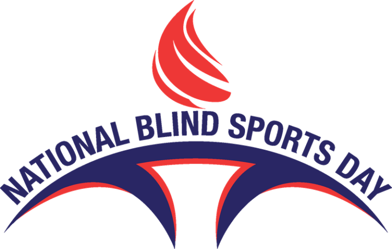 National Blind Sports Day Logo