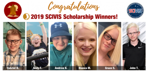 2019 SCIVIS Scholarship Winners