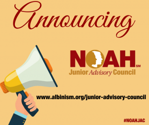 Announcing NOAH Junior Advisory Council