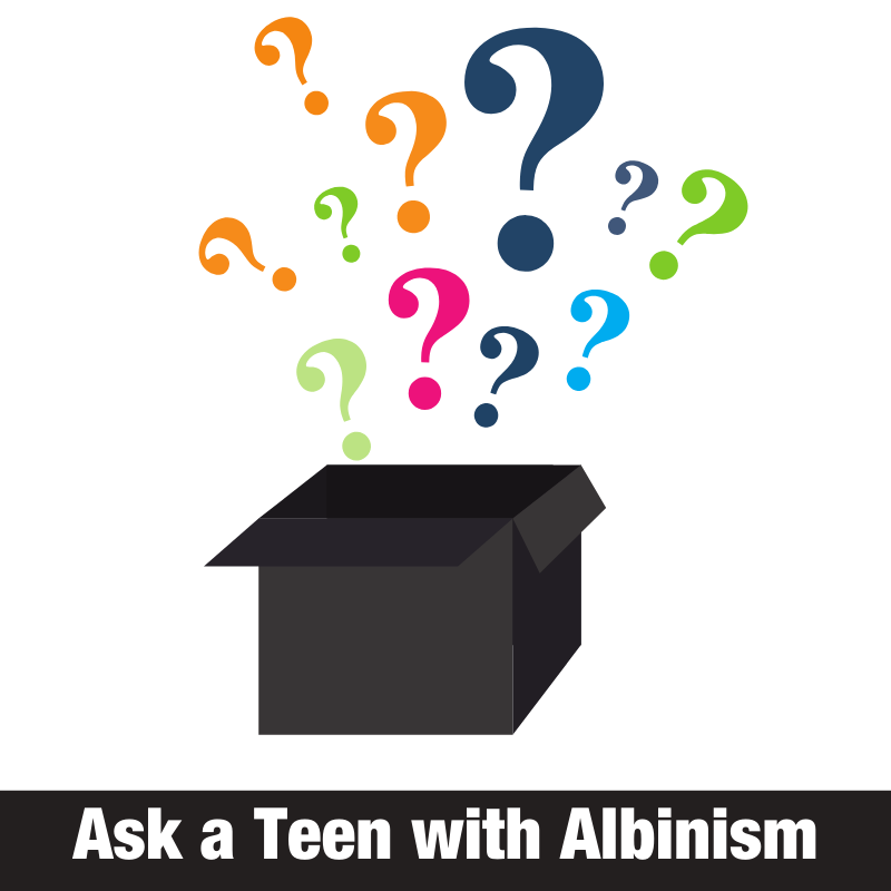 Ask a Teen with Albinism