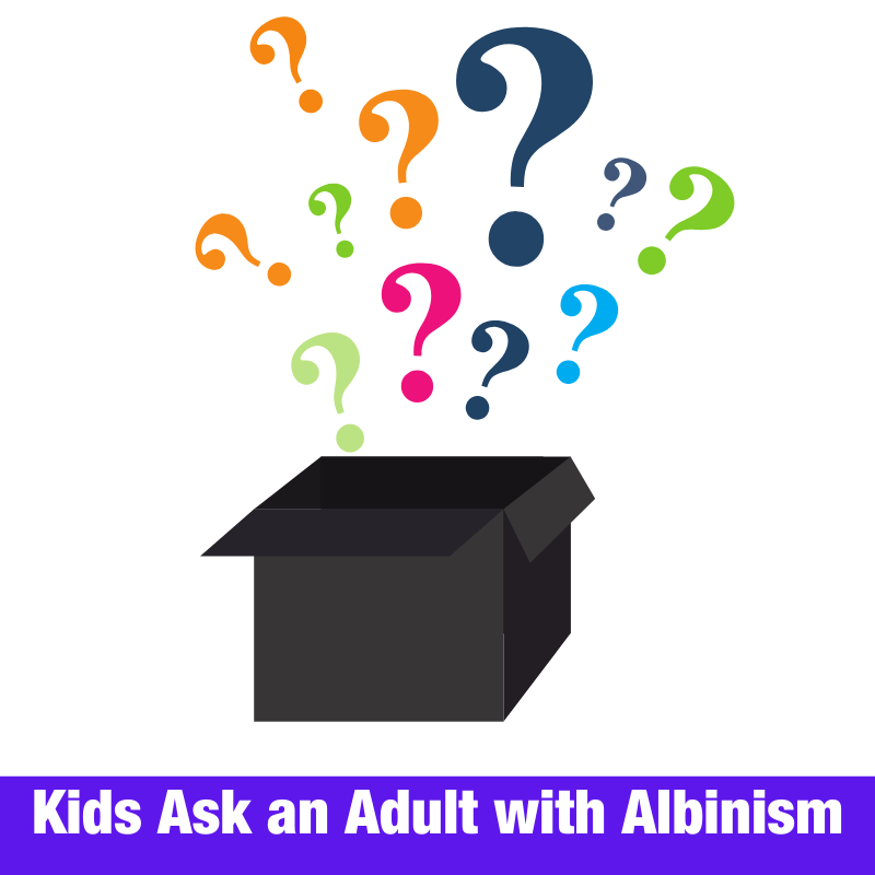 Kids Ask an Adult with Albinism