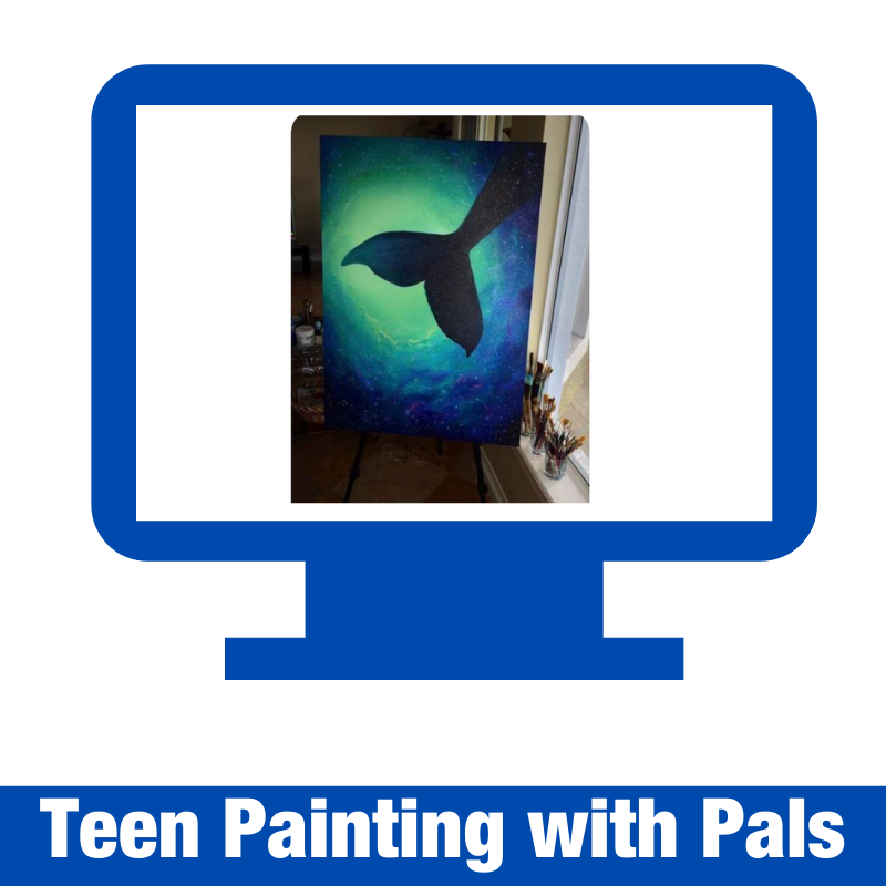 Teen Painting with Pals