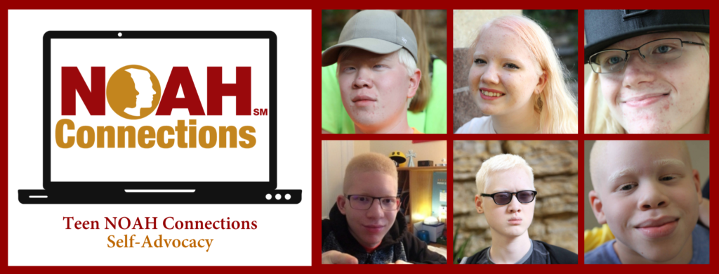 Teen NOAH Connections Self-Advocacy