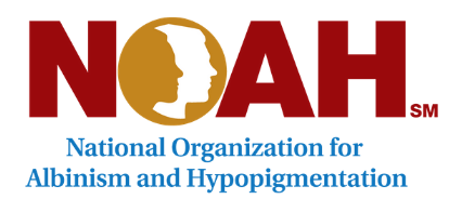 NOAH National Organization for Albinism and Hypopigmentatio