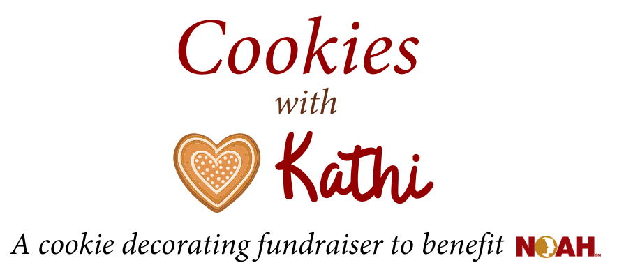 Cookies with Kathi  A cookie decorating fundraiser to benefit NOAH